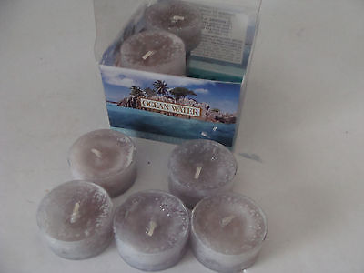 Yankee Candle scented tealights candles Ocean Water