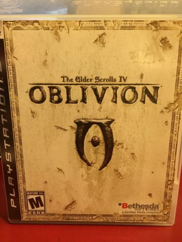 Elder Scrolls IV Oblivion Game Of The Year Edition (PS3)