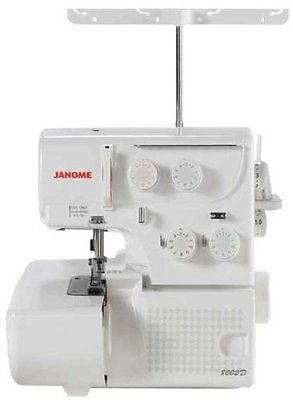 Janome Serger Sewing Machine 8002D 3/4 Thread Overlock White NEW!