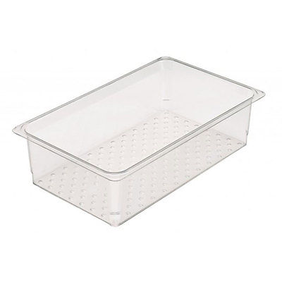 CAMBRO COLANDER FOOD PAN DRAIN TRAY 18IN X 26IN X 6IN - 1826CLRCW135