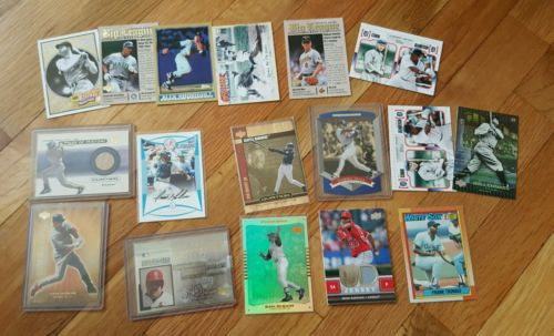 Baseball Card Collection MLB Griffey, Mcguire, Sosa, Thomas, Babe Ruth
