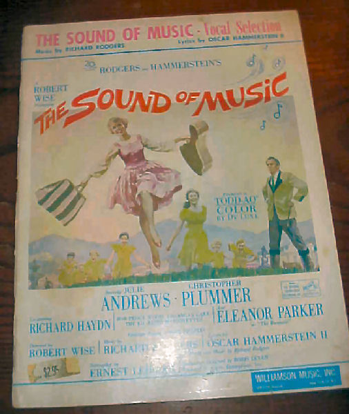 The Sound of Music Songbook - Climb Every Mountain - My Favorite Things = ++++