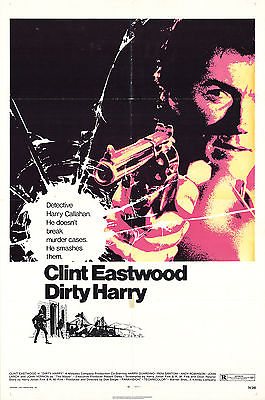 1971 Dirty Harry Poster