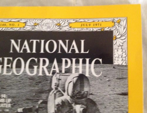 July 1971 National Geographic