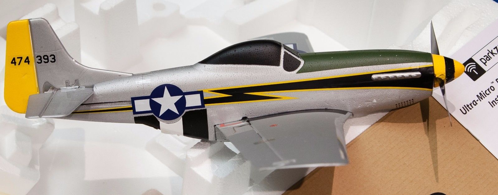 Parkzone Ultra Micro P-51 Mustang BNF