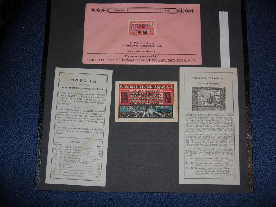 GERMANY 1921 50 pfennig  - Notgeld APPEN - Series: 13023 -