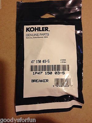 Kohler GENUINE points 4715003-s KT series engines, K532-582