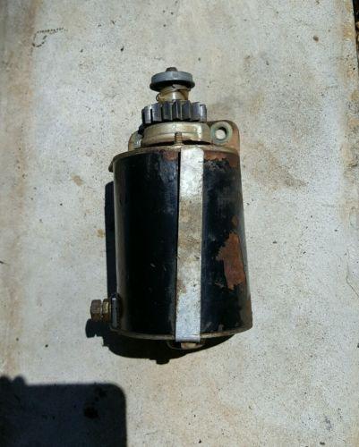 14 HP Briggs & Stratton engine starter  mower motor