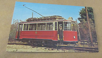 OLD TROLLEY CARS- Postcard --GERMAN TROLLEY # 2710[Currently in Museum]