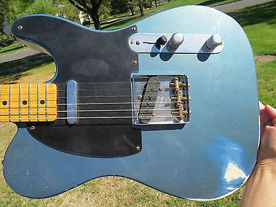 Fender Custom Shop Lake Placid Blue Nocaster 1951 Reissue Roadshow 2011 ABBY P/U