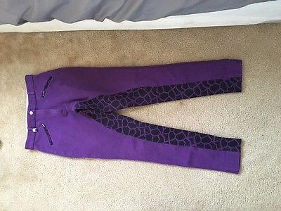 Purple English Breeches