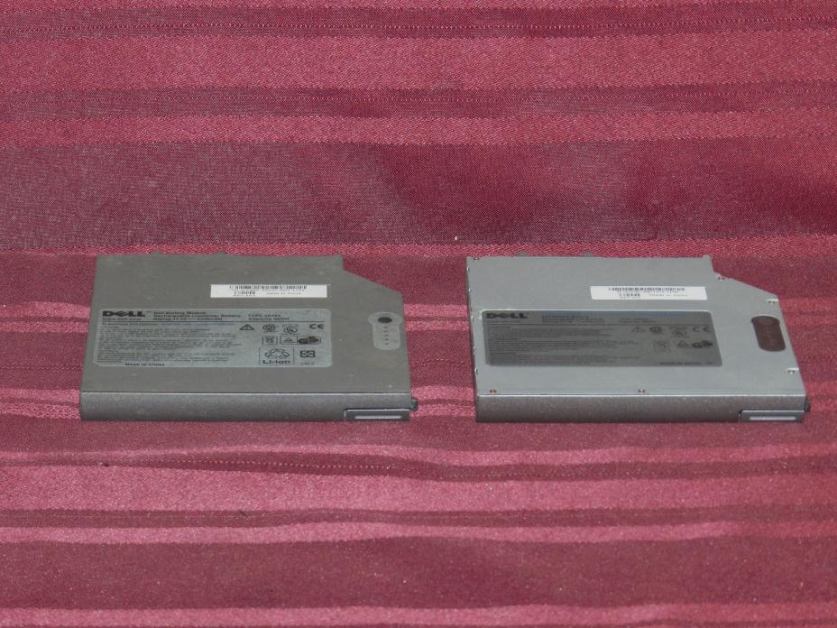 Two Dell D Series Secondary Batteries TYPE 4R084 Latitude D600 D610 D620 D630