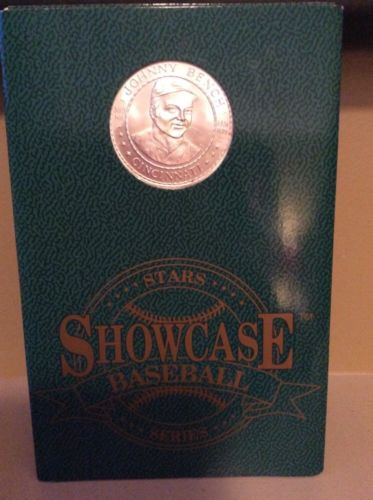 Johnny Bench Pure Silver Coin Showcase Baseball 1992 FATHERS DAY