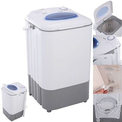 Mini Portable Washing Machine Washer 7.7 lbs Single Tub Compact Dorm Apartment