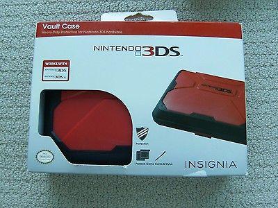Insignia Nintendo 3DS/3DS XL Vault Case - RED