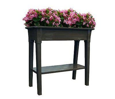 New Raised Garden Plant Bed Outdoor Planter Flower Vegetable Herb Patio Yard Box