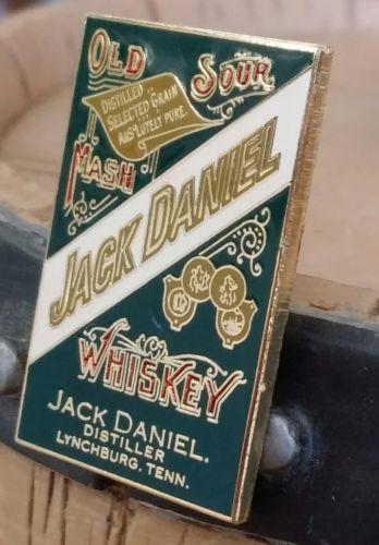 ↗ 1999 ↖ Jack  Daniels ☆☆ GREEN LABEL PIN ☆☆ Buckles Of America