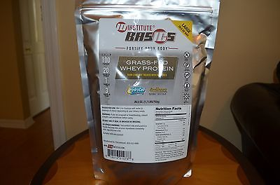 10 (TEN)  Institute Grass-Fed Whey Protein 26.5 oz. Bag (LARGE)