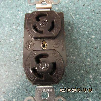 H&H 15 Amp 150 Volt Duplex outlet NEW