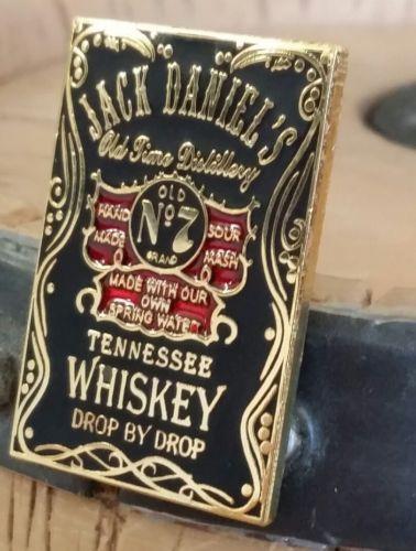 ↗ 1999 ↖ Jack  Daniels ☆☆ DROP BY DROP BLACK LABEL PIN ☆☆ Buckles Of America