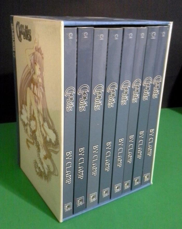 CHOBITS by CLAMP Complete Box Set 1-8 Manga Books In English w/ BOX