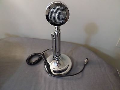 vintage astatic silver eagle microphone