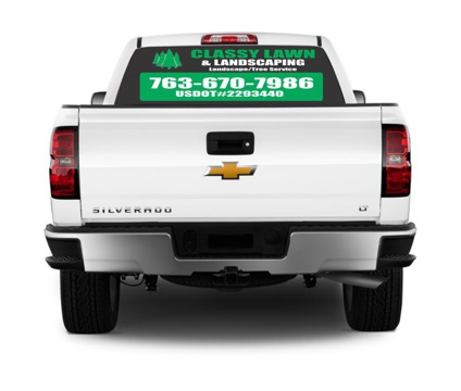 STAND OUT with DECALS, MAGNETS, BANNERS & MORE