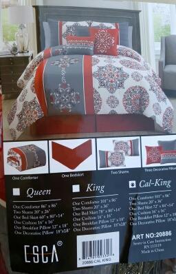 California-King Comforter Set