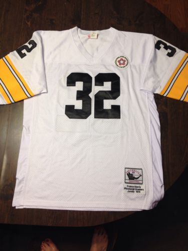MITCHELL AND NESS 1975 THROWBACK'S NFL FRANCO HARRIS JERSEY NWOT