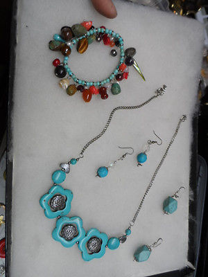 New mixed turquoise color jewelry lot #5132