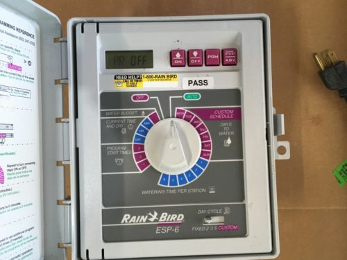 Rain Bird ESP 6 Sprinkler Control System