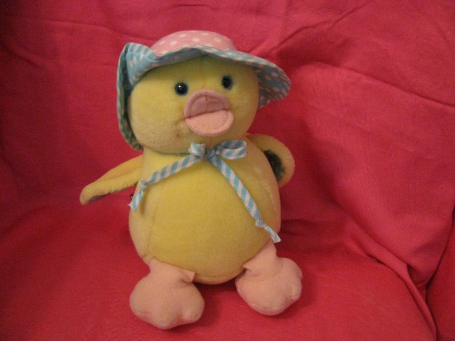 Eden Plush/Stuffed Musical Duck YOU ARE MY SUNSHINE Wind Up