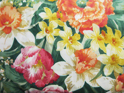 BTY Gorgeous Cotton Floral Fabric by Concord
