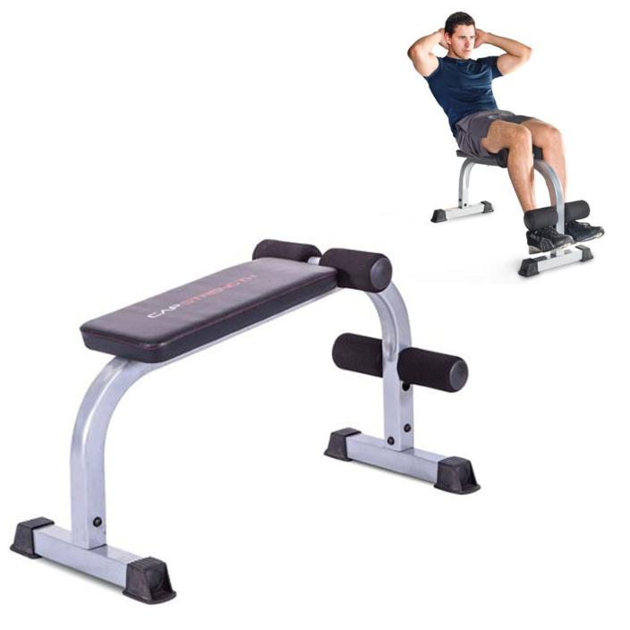 Ab Crunch Bench Steel Exercise Fitness Abs Training Board Workout Equipment