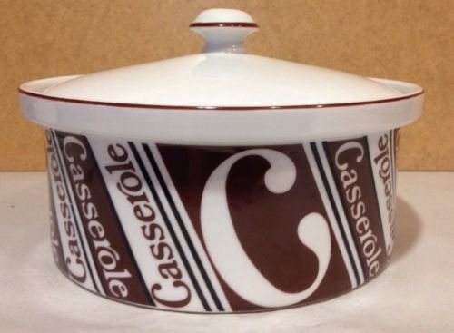 Mid Century Shafford Casserole Dish Oven to Table Ware