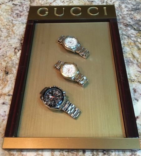 Gucci Wood Store Display Countertop 10x16x1Inches