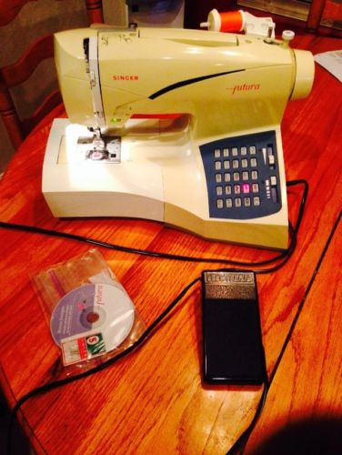 Singer Futura CE-100, Sewing & Embroidery Machine