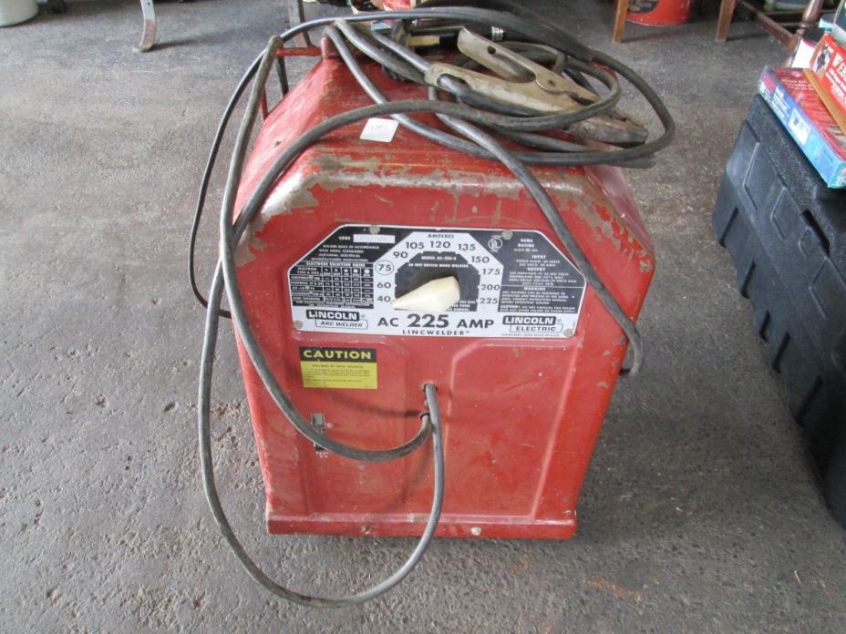 Lincoln Electric 230V 225 Amp AC Arc Welder Stick Welding Machine Weld AC225S