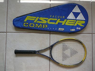 FISCHER VACUUM COMP LITE 98 TENNIS RACQUET  4 3/8 with set of grommets