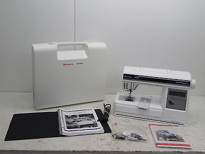 Husqvarna Viking Quilt Designer II Sewing & Embroidery Machine with arm & cards