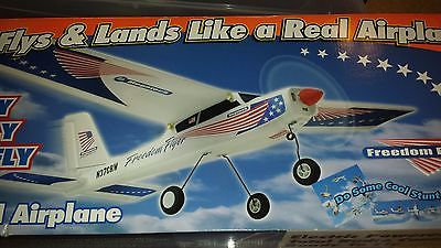 Megatech Electric Radio Control Airplan- Freedom Flyer- New In Box