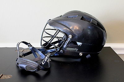Cascade CS Lacrosse Helmet Youth Adjustable One Size Fits Most Black