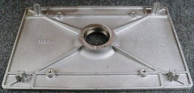 Pad Driver Base Plate + Grip Face, Clarke OBS-18 20901A, 32519A Plus Parts