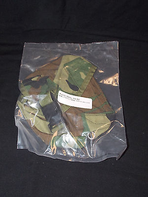 Military Issue Woodland MOLLE 100 Round Saw Utility Medical Ammo Mag Pouch EXC