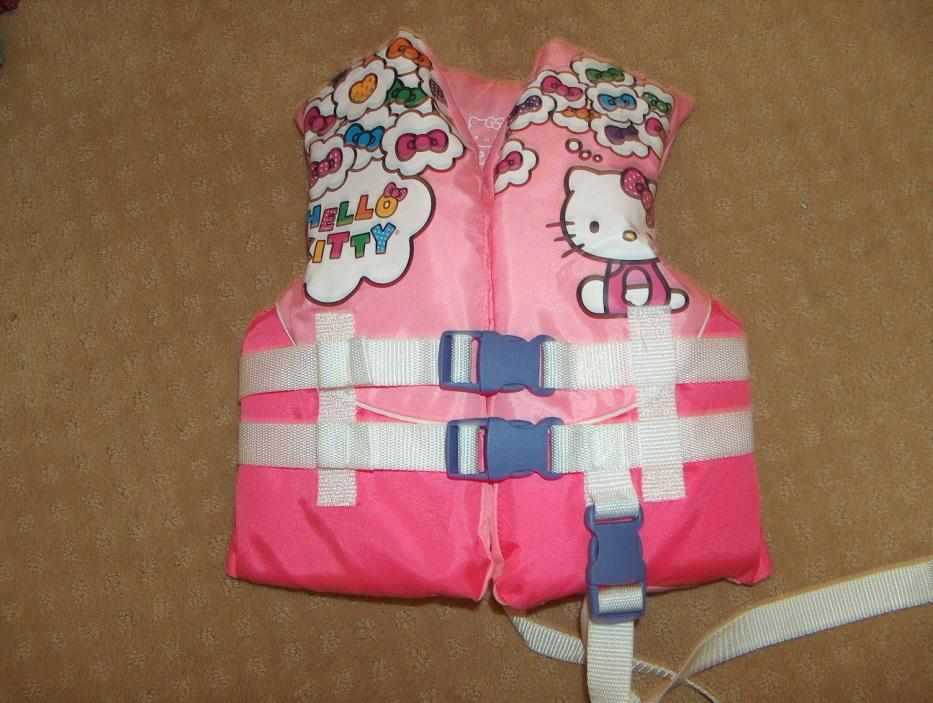 hello kitty Life Jacket Vest For child - max 30-50 lbs USCG approved