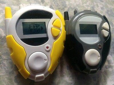 Digimon Digivice D3 (Yellow) and Black Digivice read description