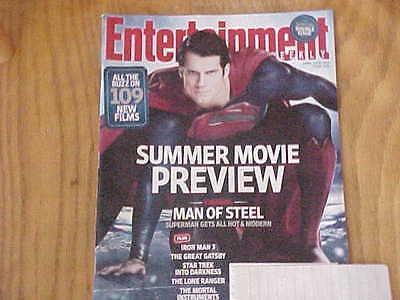 Entertainment Weekly April 19/26 2013 Superman Iron Man 3 Star Trek The Lone Ran