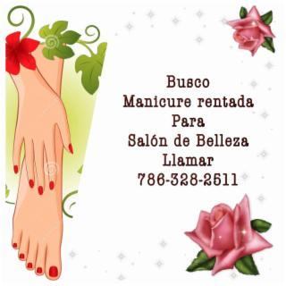 Rento Mesa de Manicure