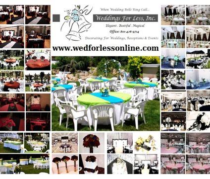 Wedding Decorating Packages & DIY Rentals