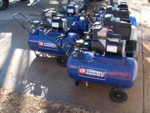 Campbell Hausfeld 20 Gal Air Compressors (bethany)